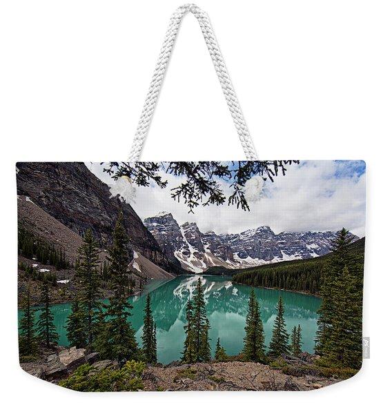 Moraine Lake Weekender Tote Bag