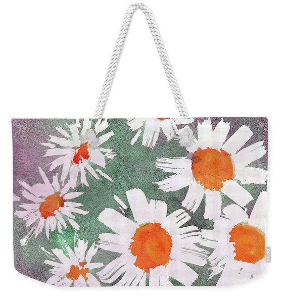 More Bunch Of Daisies Weekender Tote Bag