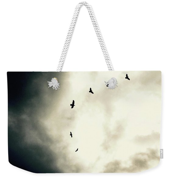 Big Sky Crows Weekender Tote Bag