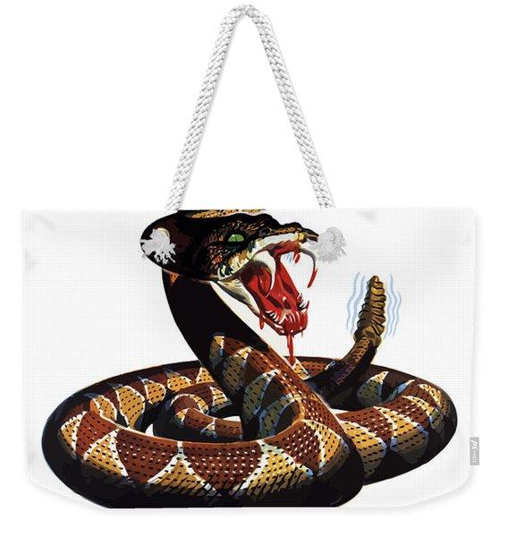 More Dangerous Than A Rattlesnake - Ww2 Weekender Tote Bag