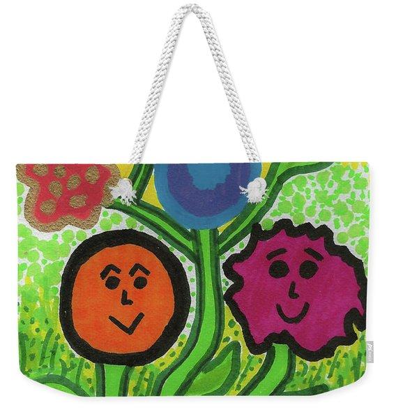 More Happy Days Weekender Tote Bag
