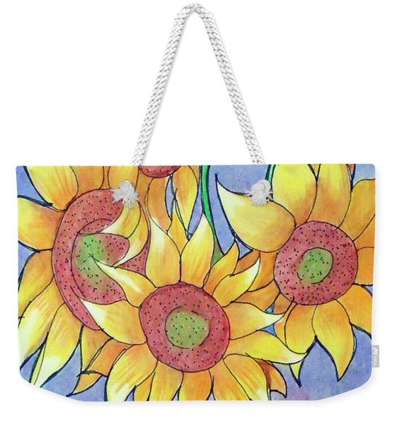 More Sunflowers Weekender Tote Bag