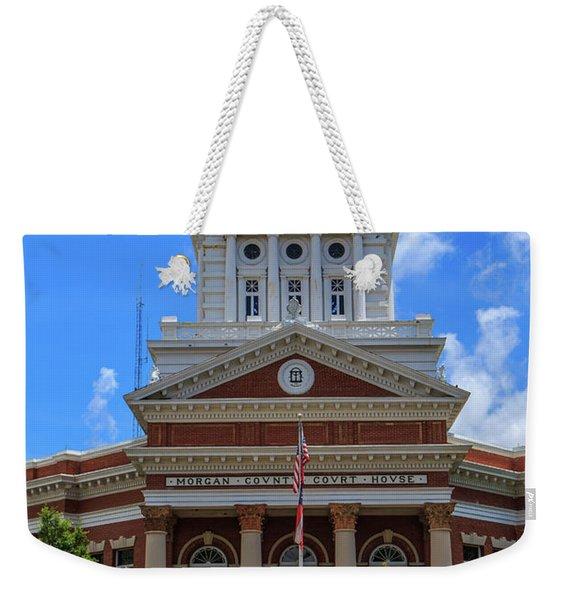 Morgan County Court House Weekender Tote Bag
