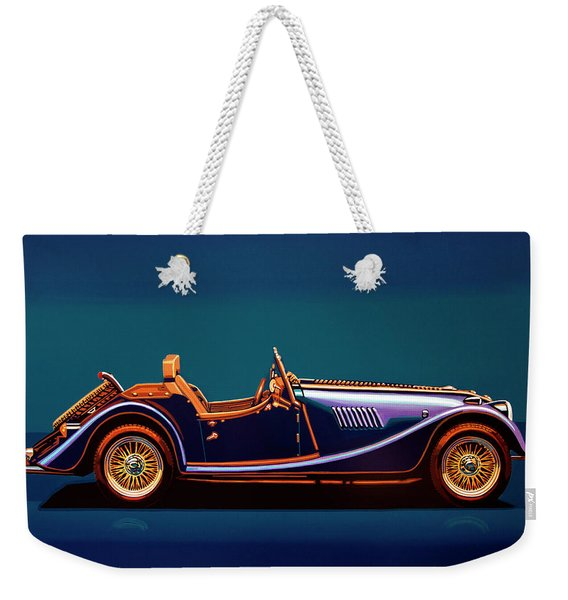 Morgan Roadster 2004 Painting Weekender Tote Bag