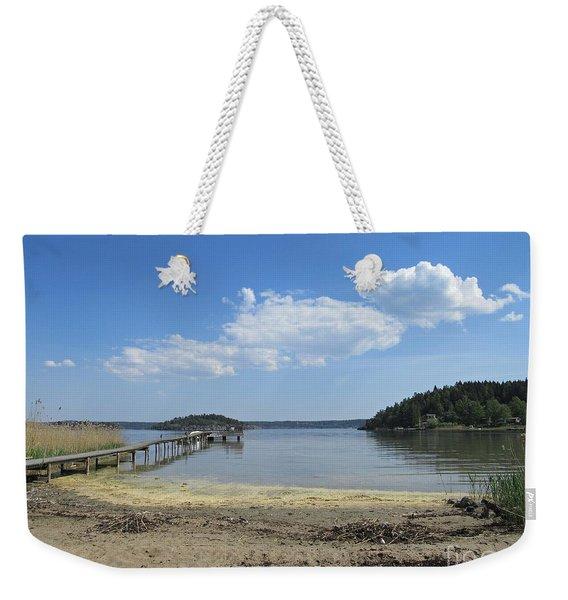 Aspvik On Morko Island Weekender Tote Bag