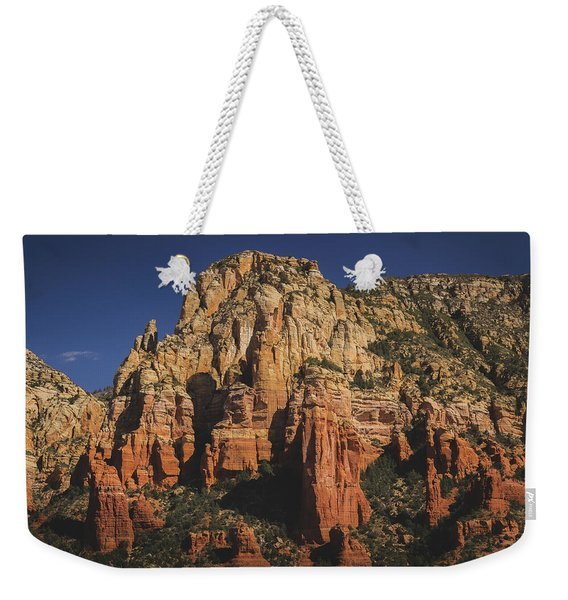 Weekender Tote Bag featuring the photograph Mormon Canyon Details by Andy Konieczny