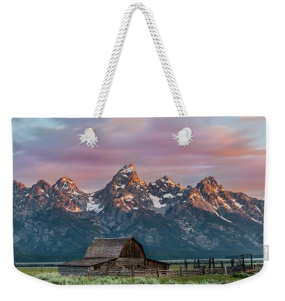 Mormon Row Weekender Tote Bag