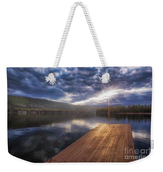 Morning Weekender Tote Bag