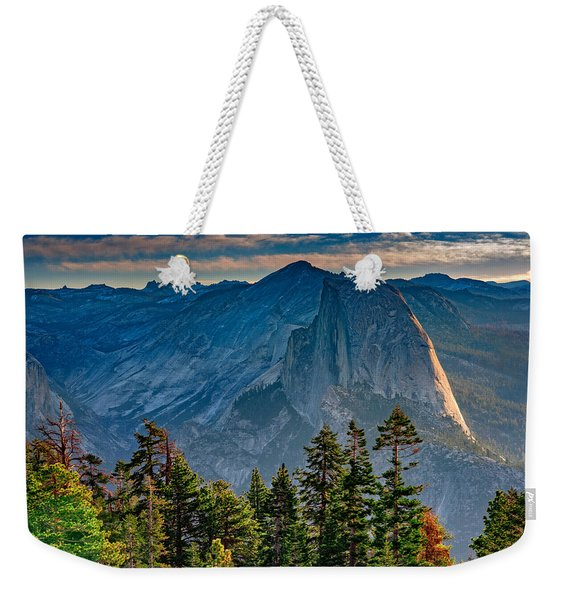 Morning At Half Dome Weekender Tote Bag
