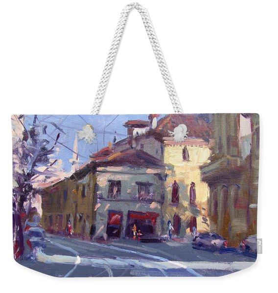 Morning At Padua Italy Weekender Tote Bag