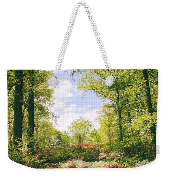 Morning Azaleas Weekender Tote Bag
