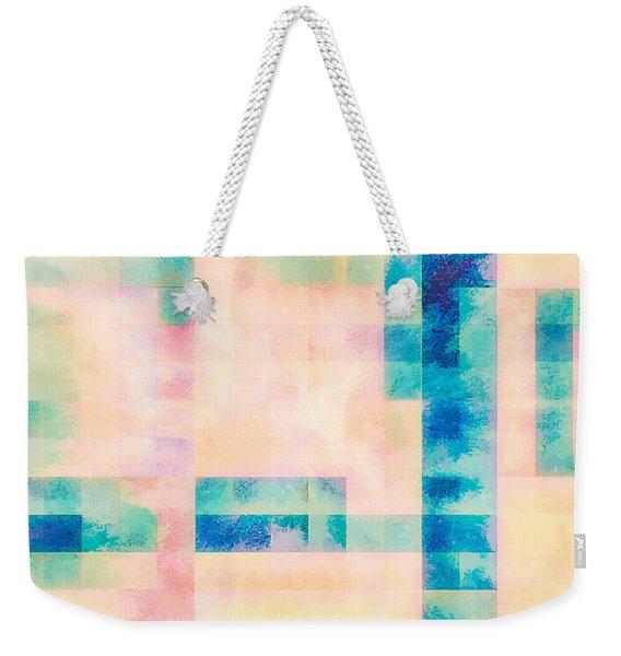 Morning Blush Weekender Tote Bag