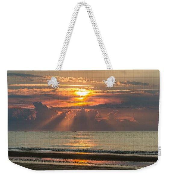 Morning Break Weekender Tote Bag