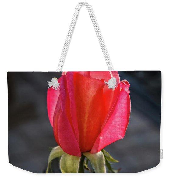 Morning Bud Weekender Tote Bag