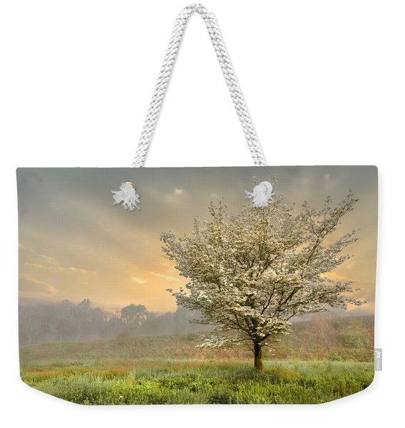 Morning Celebration Weekender Tote Bag