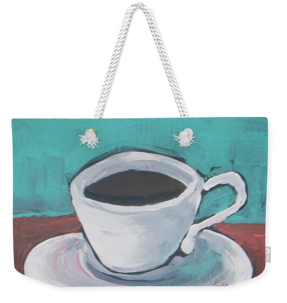 Morning Coffee Weekender Tote Bag