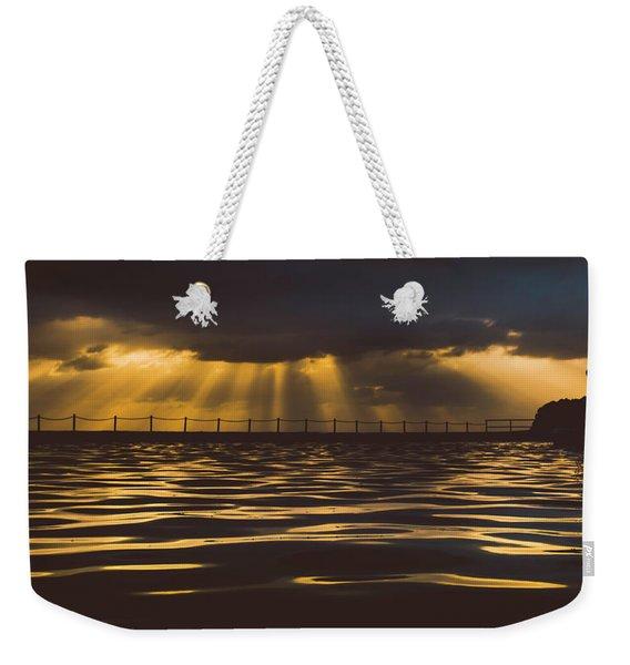 Morning Dip Weekender Tote Bag