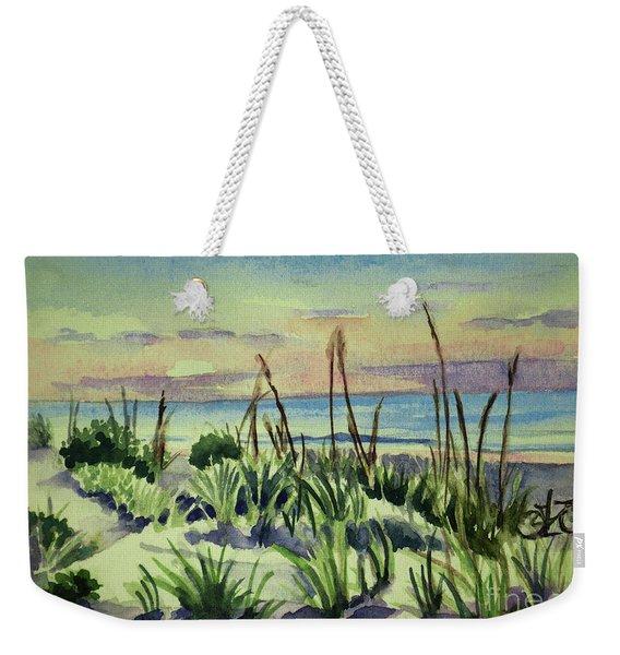 Morning Dunes  7-7-2017 Weekender Tote Bag