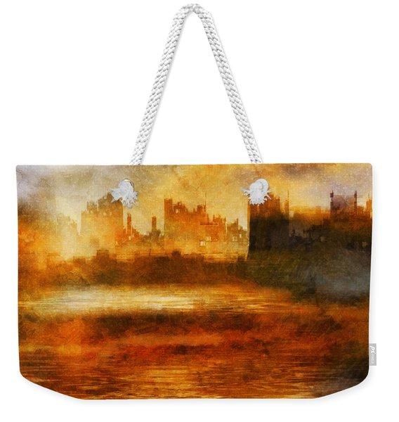 Morning Effect Weekender Tote Bag