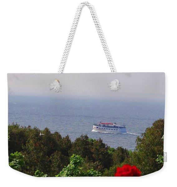 Morning Ferry To Mackinac Island Weekender Tote Bag