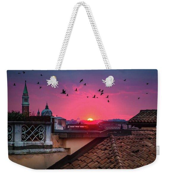 Morning In Venice  Weekender Tote Bag