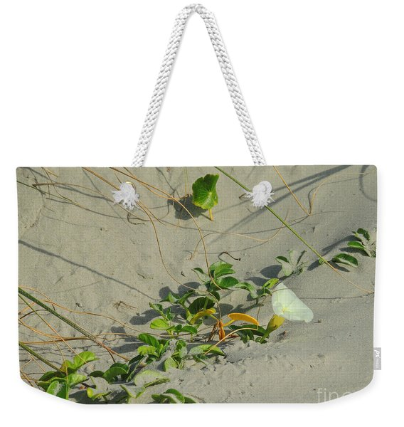 Morning Glory At The Beach Weekender Tote Bag