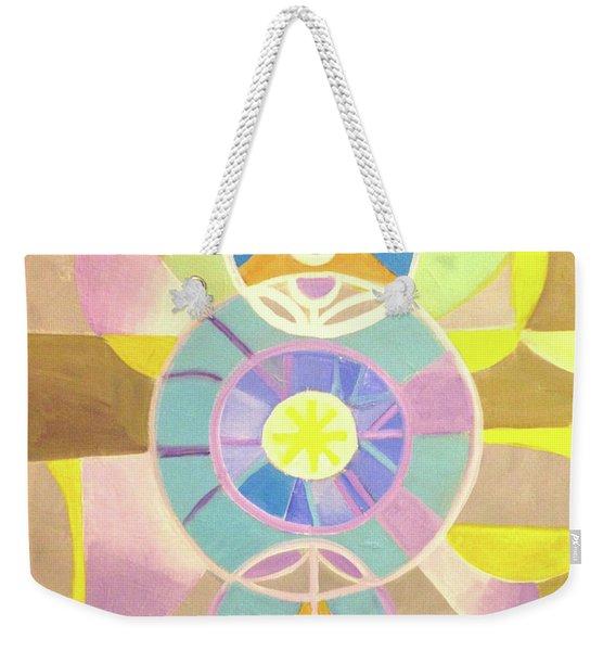 Morning Glory Geometrica Weekender Tote Bag