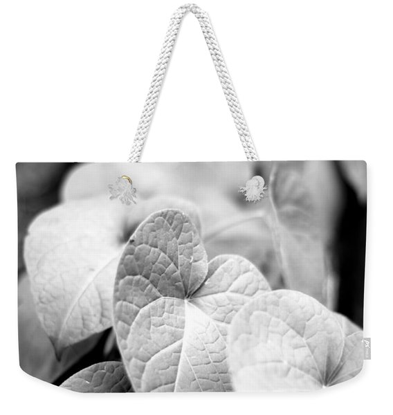 Morning Glory Vines Weekender Tote Bag