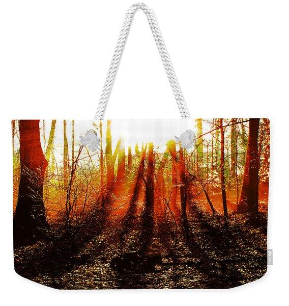 Morning Glow Weekender Tote Bag