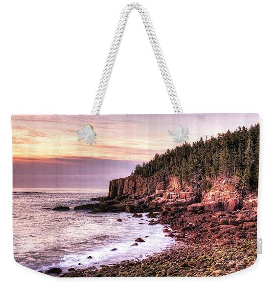 Morning In Acadia Weekender Tote Bag