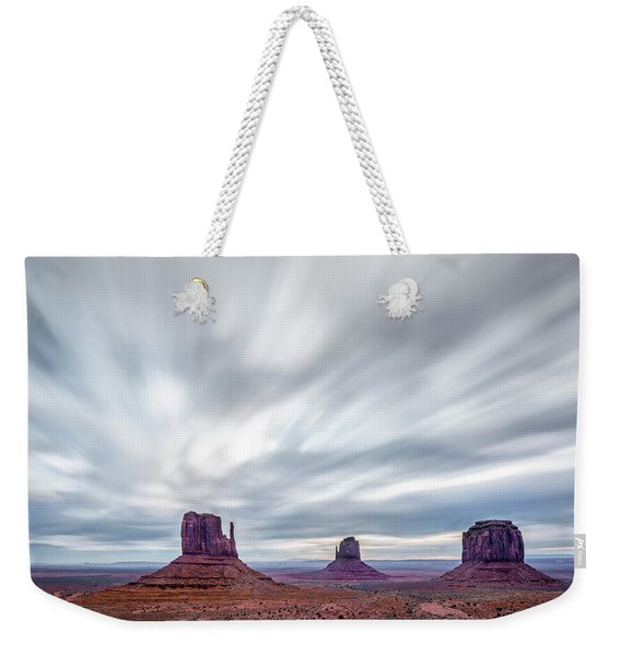Morning In Monument Valley Weekender Tote Bag