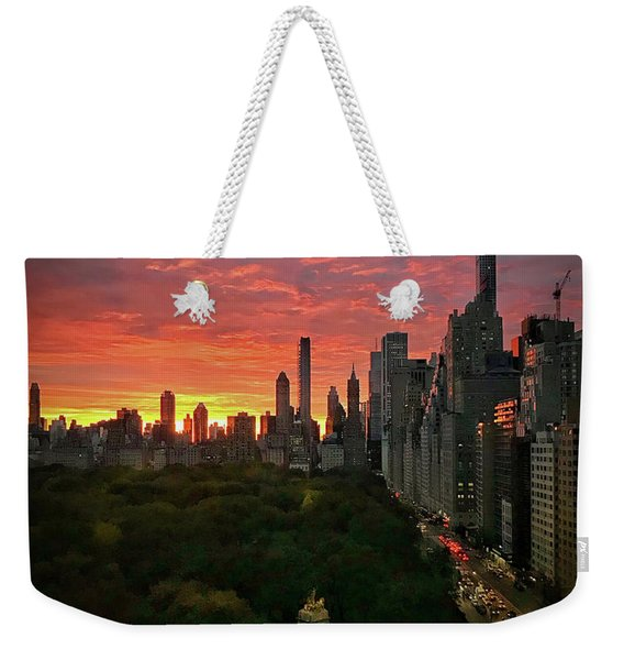 Morning In The City Weekender Tote Bag