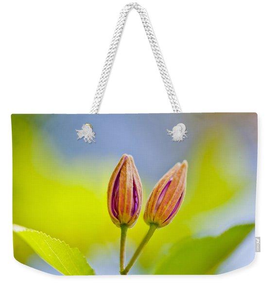 Morning Joy Weekender Tote Bag