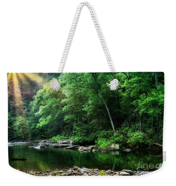 Morning Light On Williams River  Weekender Tote Bag