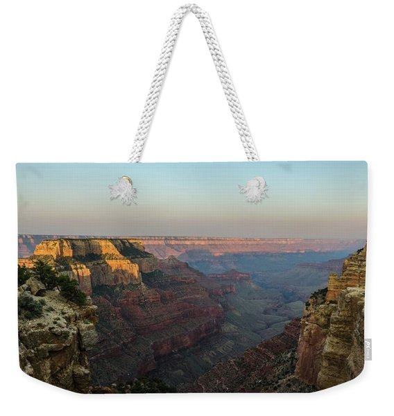 Morning Lights Wotans Throne Weekender Tote Bag
