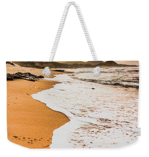 Morning Marine Wash Weekender Tote Bag