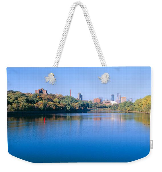 Morning, Minneapolis, Minnesota Weekender Tote Bag