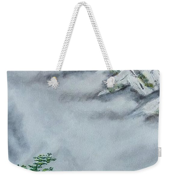 Morning Mist 2 Weekender Tote Bag