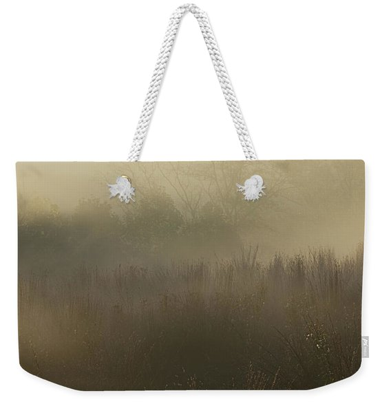 Morning Mist On The Trail Weekender Tote Bag