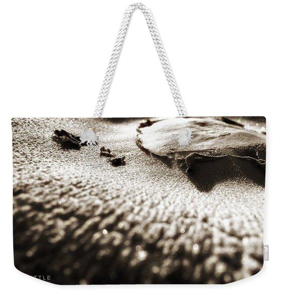 Morning Mushroom Top Weekender Tote Bag