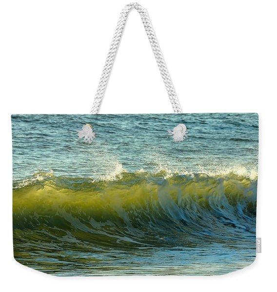 Morning Ocean Break Weekender Tote Bag