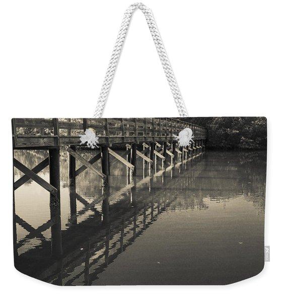Morning On The Bayou Weekender Tote Bag