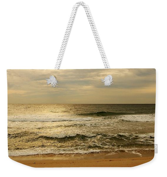 Morning On The Beach - Jersey Shore Weekender Tote Bag