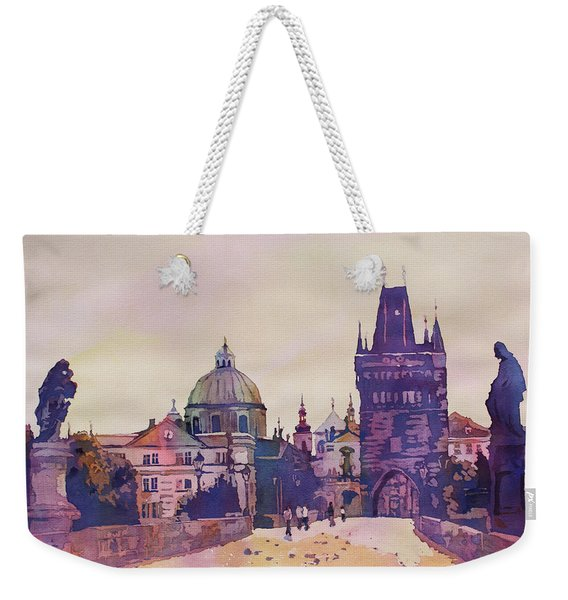 Morning On The St. Charles Bridge Weekender Tote Bag