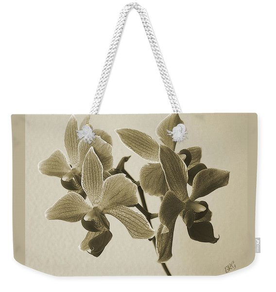 Morning Orchid Weekender Tote Bag