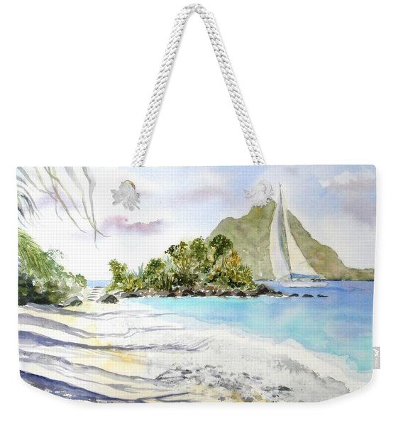 Morning Shadows, Little Thatch Weekender Tote Bag