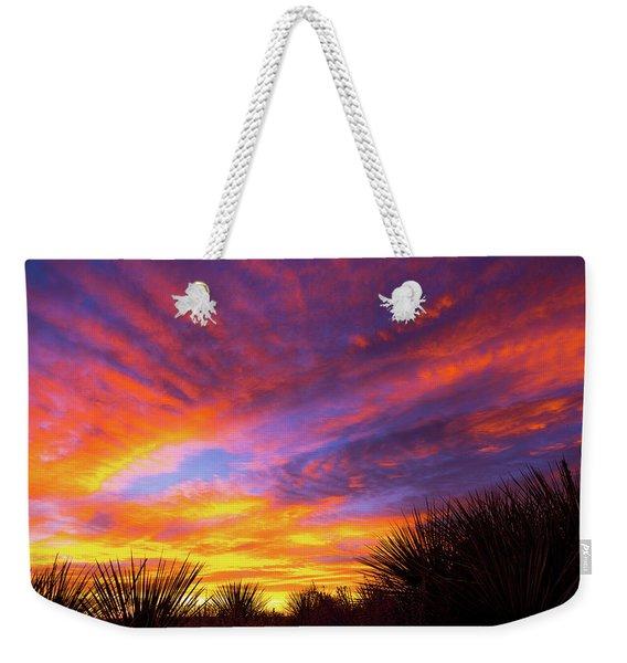 Morning Skies Weekender Tote Bag