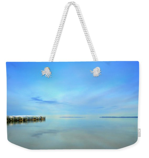 Morning Sky Reflections Weekender Tote Bag
