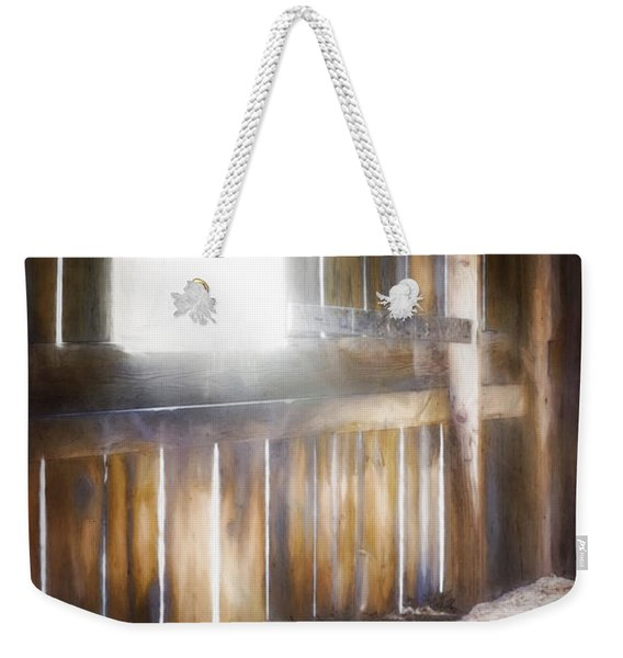 Morning Sun In The Barn Weekender Tote Bag