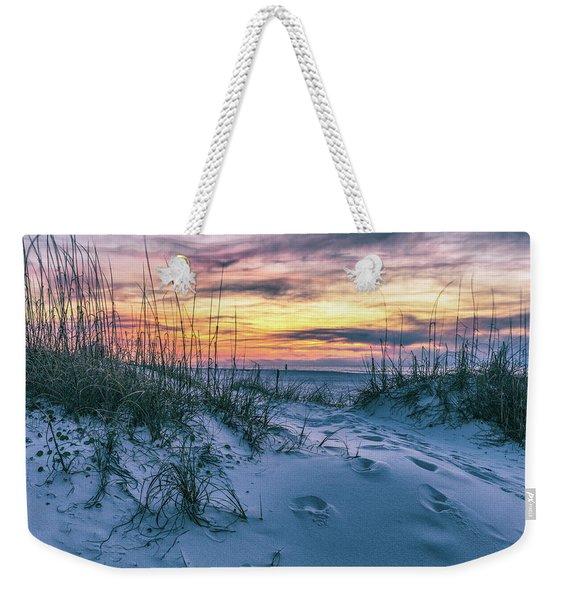 Morning Sunrise At The Beach Weekender Tote Bag